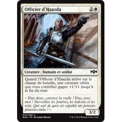 Blanche - Officier d'Haazda (C) [RNA]