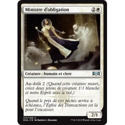 Blanche - Ministre d'obligation (U) [RNA]