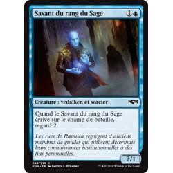 Bleue - Savant du rang du Sage (C) [RNA] (FOIL)