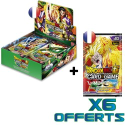 Boîte de 24 boosters Dragon Ball Super Card Game - Série 05