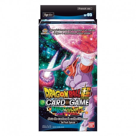 Special Pack Dragon Ball Super Card Game Série 05