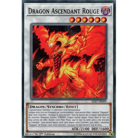 Yugioh - Dragon Ascendant Rouge (C) [SAST]
