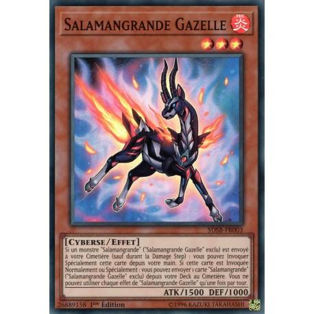 Yugioh - Salamangrande Gazelle (SR) [SDSB]