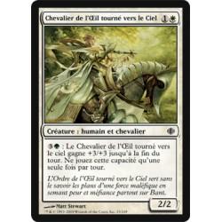 Blanc - Chevalier de l'Œil tourné vers le Ciel