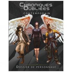 Chroniques Oubliées Contemporain - Le Dossier de personnage