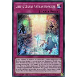 Yugioh - Chef-d'Oeuvre Artisanesorcière (SR) [INCH]