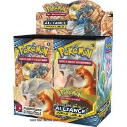 Boîte de 36 boosters Soleil et Lune (SL10) Alliance Infaillible Pokemon