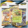 Pack 3 boosters Jungko - Soleil et Lune Alliance Infaillible (SL10) Pokemon