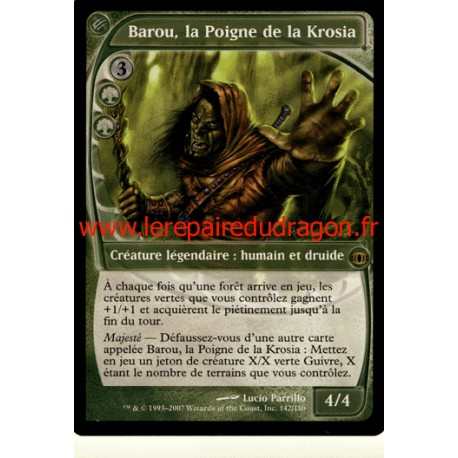 Verte - Barou, la Poigne de la Krosia (R)