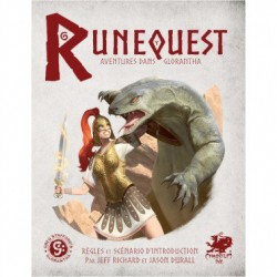 Runequest II - Kit d'Introduction - Aventures dans Glorantha