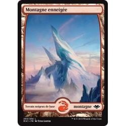Terrain - Montagne enneigée (C) Foil [MH1]