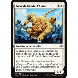 Blanche - Frère de bande d'Ajani (U) Foil [WAR]