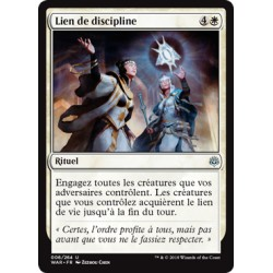 Blanche - Lien de discipline (U) Foil [WAR]