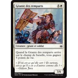 Blanche - Géante des remparts (C) Foil [WAR]