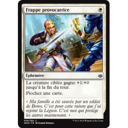 Blanche - Frappe provocatrice (C) Foil [WAR]