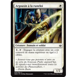 Blanche - Argousin à la runeloi (C) Foil [WAR]