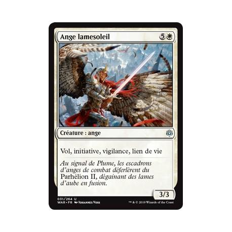 Blanche - Ange lamesoleil (U) Foil [WAR]