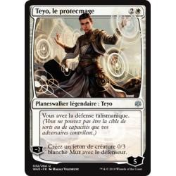 Blanche - Teyo, le protecmage (U) Foil [WAR]