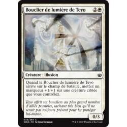 Blanche - Bouclier de lumière de Teyo (C) Foil [WAR]