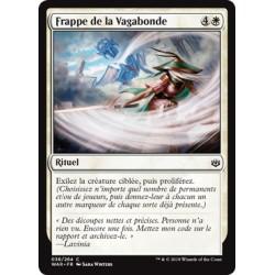 Blanche - Frappe de la Vagabonde (C) Foil [WAR]