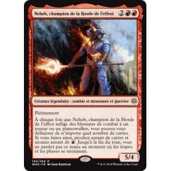 Rouge - Neheb, champion de la Horde de l'effroi (R) Foil [WAR]