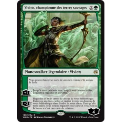Verte - Vivien, championne des terres sauvages (R) Foil [WAR]