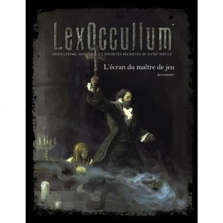 Lex Occultum - Ecran du Maître de Jeu