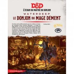 Ecran - Waterdeep - Le Dongeon du Mage Dément - Dungeons & Dragons 5edt