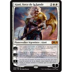 Blanche - Ajani, force de la bande (M) [M20] FOIL