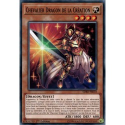 Yugioh - Chevalier Dragon De La Création (C) [SDRR]