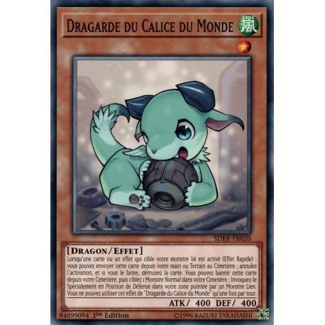 Yugioh - Dragarde du Calice du Monde (C) [SDRR]
