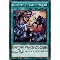Yugioh - Corruption de l'Héritage du Monde (C) [MP19]