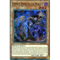 Yugioh - Esprit Noir de la Malice (SR) [LED5]