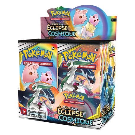 Boîte de 36 boosters Soleil et Lune (SL12) Eclipse Cosmique Pokemon