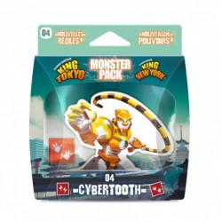 Monster Pack - Cybertooth (pour King of Tokyo ou King of New-York)