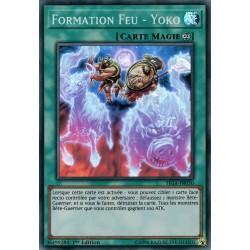 Yugioh - Formation Feu - Yoko (SR) [FIGA]