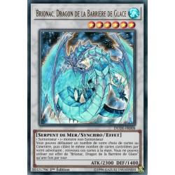 Yugioh - Brionac, Dragon de la Barrière de Glace (UR) [DUDE]