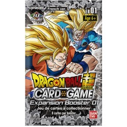 DRAGON BALL SUPER CARD GAME Expansion Booster 01 (16-01-2020)