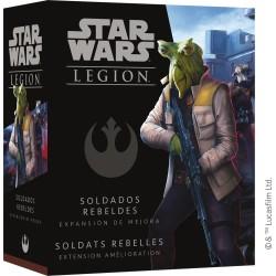 Star Wars - Legion - Extension Amélioration Soldats Rebelles