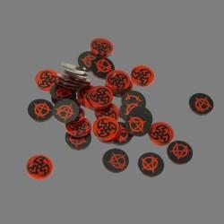 VTES – Compteurs – Noir et Rouge