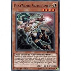 Yugioh - Felis l'Archère, Seigneur Lumière (C) [SDSH]