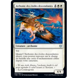 (FOIL) Blanche - Archonte des étoiles descendantes (U) [THB]