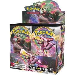 Boite de 36 Boosters - Clash des Rebelles (EB02) Pokemon