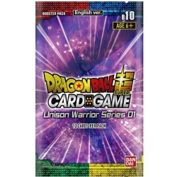 Booster Unison Warrior - Dragon Ball Super Card Game (14/08/2020)