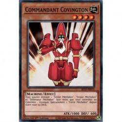 Yugioh - Commandant Covington (C) [SR10]