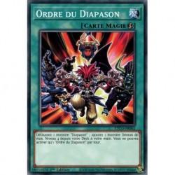 Yugioh - Ordre du Diapason (C) [ETCO]