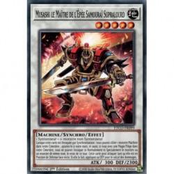 Yugioh - Musashi le Maître de l'Épée Samouraï Supralourd (C) [ETCO]