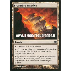 Terrain - Frontière Instable (U)