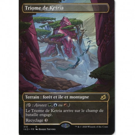 Terrain - (ALT) Triome de Ketria (R) [IKO]