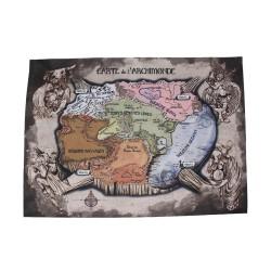 Carte du Monde - Les Apprentis Sorciers
